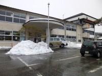 作業現場の市役所の東館