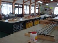 木工房の体験施設